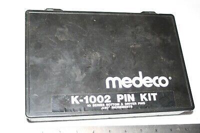 Keying Kit Medeco Pin K-1002 10 Series Bottom Drivers .030 Locksmith