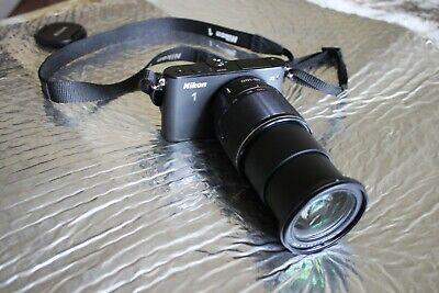 Nikon 1 J3 14.2MP Digital Camera - Black (w/ 10-100mm Lens)