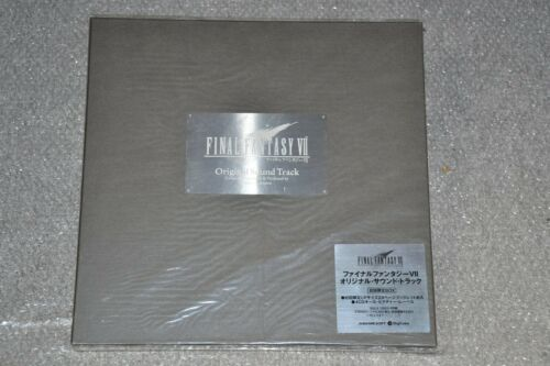 Final Fantasy VII - 7 - Original Soundtrack - Limited Box - 1997 - PRISTINE!