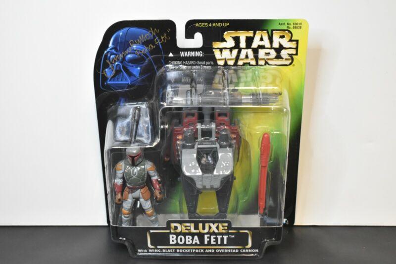Star Wars 1996 Potf Kenner Boba Fett With Wing-Blast Rocket Pack ~ Complete