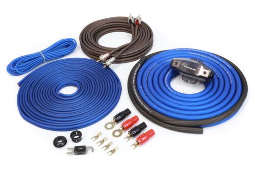 KnuKonceptz 2 Channel TRUE 4 Gauge Kolossus Oxygen Free Copper Amp Kit OFC AWG