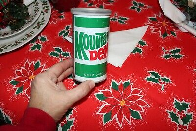 VINTAGE MOUNTAIN DEW CAN WITH T-SHIRT