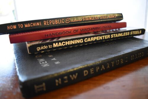 Book - Lot Republic Steel - Handbooks Machining Data