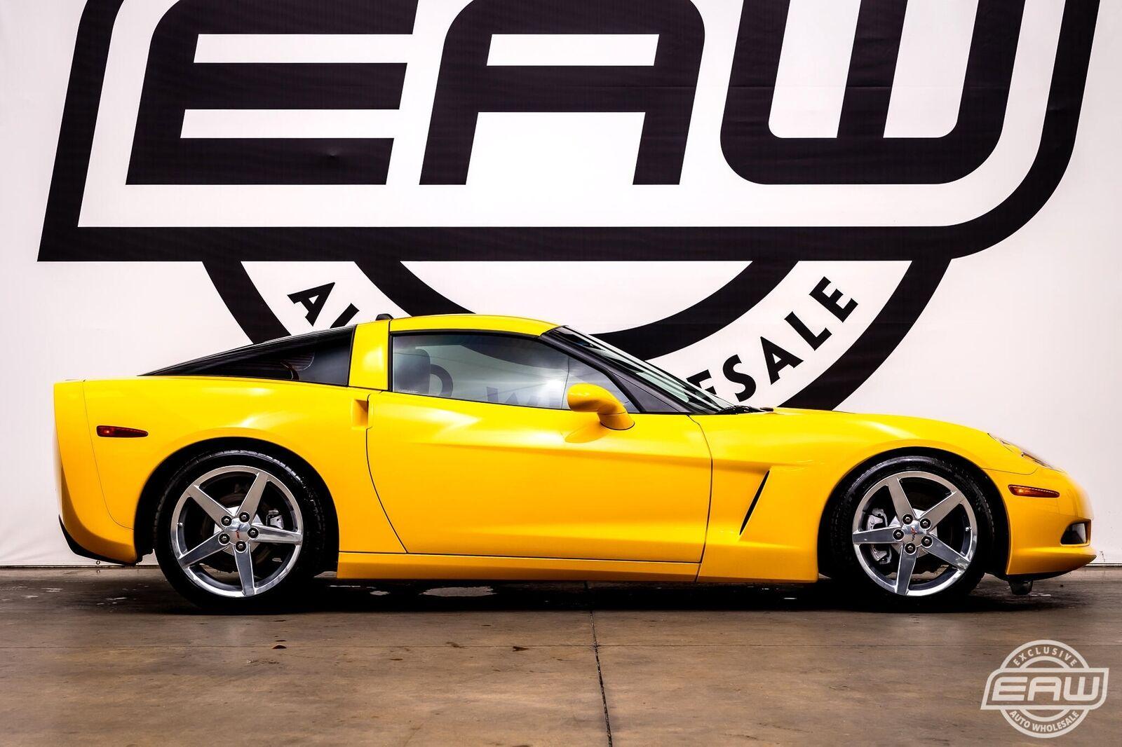 2005 Yellow Chevrolet Corvette Coupe  | C6 Corvette Photo 9