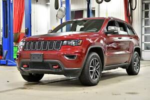 2018 Jeep Grand Cherokee TRAILHAWK * CUIR/SUEDE * HITCH 6200 LBS