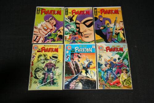 THE PHANTOM  LOT OF 26 COMICS# 22,23,25,60-74,AND COLLECTOR