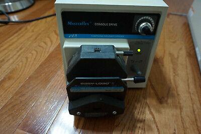 Cole Parmer Masterflex Peristaltic Pump Console Drive Easy Load 7521-40 77201