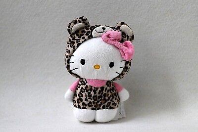 H&M Hello Kitty Leopard Kostüm Schmusetier Kuscheltier Stofftier Plüschfigur ***