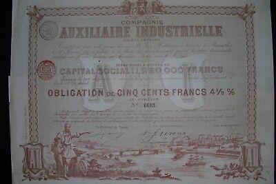 Auxiliaire Industrielle  1897   Hochdeko