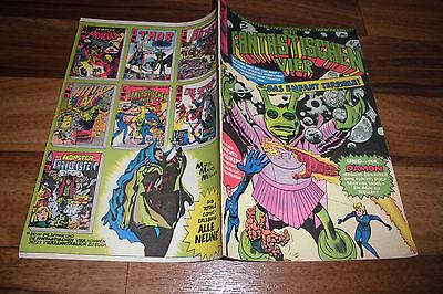 Marvel + Stan Lee + Williams:  die FANTASTISCHEN VIER # 21 -- in 1. Auflage 1974