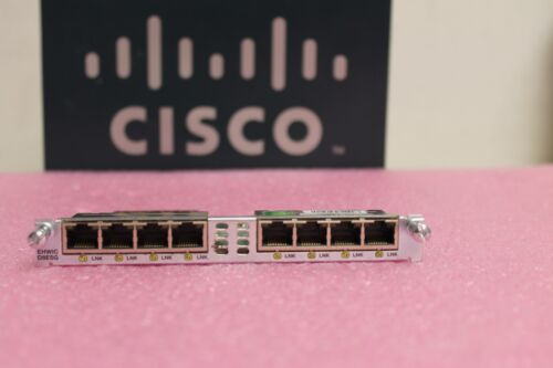 Cisco EHWIC-D-8ESG 8 Port Gigabit Enhanced WAN Interface EHWIC Card fastship