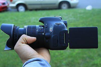 Canon Rebel T3i / 600D 18.0 MP SLR Camera With 18-55mm Lens Kit  (2 LENSES)