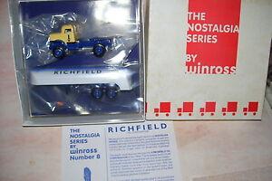 1999-Richfield-Nostalgia-Series-Winross-Diecast-32-039-Tanker-Truck