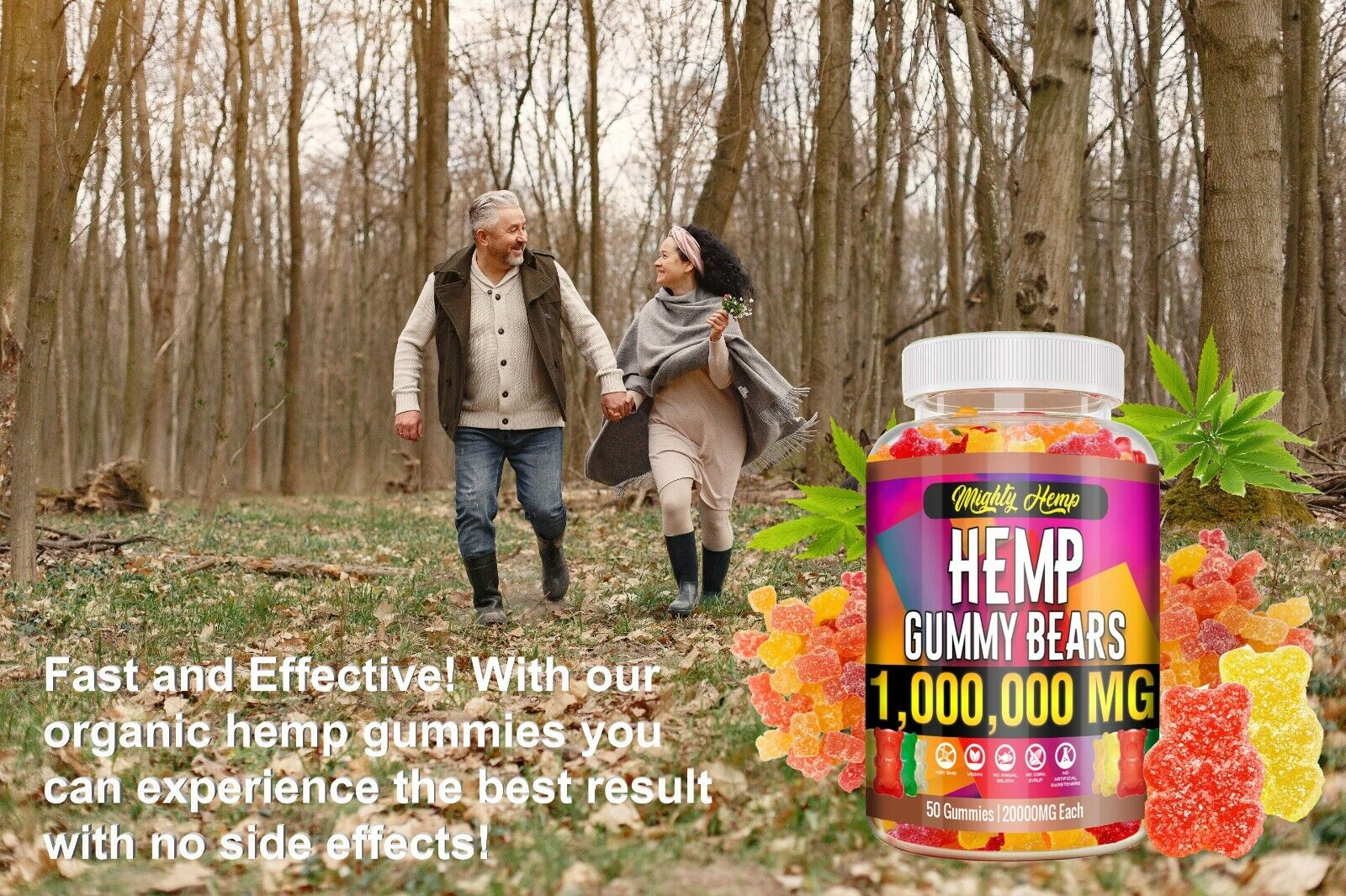 Best Hemp Oil Drops for Pain Relief, Stress, Sleep PURE & ORGANIC Vitamin 3