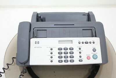 Hp Cb782aaba 640 Inkjet Fax Machine