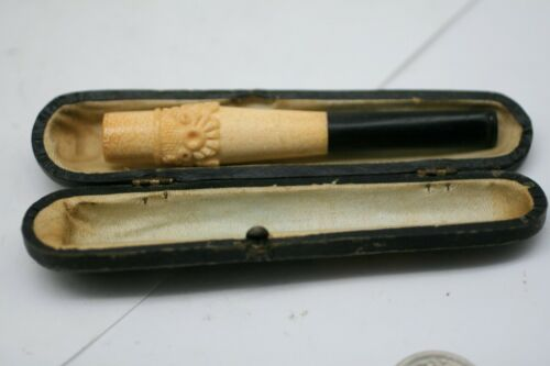 Handmade Meerschaum Cigarette Holder vintage E3