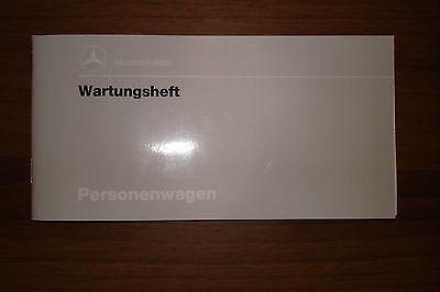 Mercedes-Benz Service-Heft (Scheckheft) für  W124 und andere Modelle geeignet
