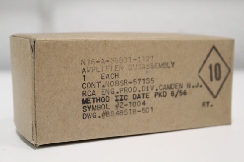 New RCA N16-A-38801-1127 Sub-Assembly Amplifier Z-1004 8848518-501 + Priority SH