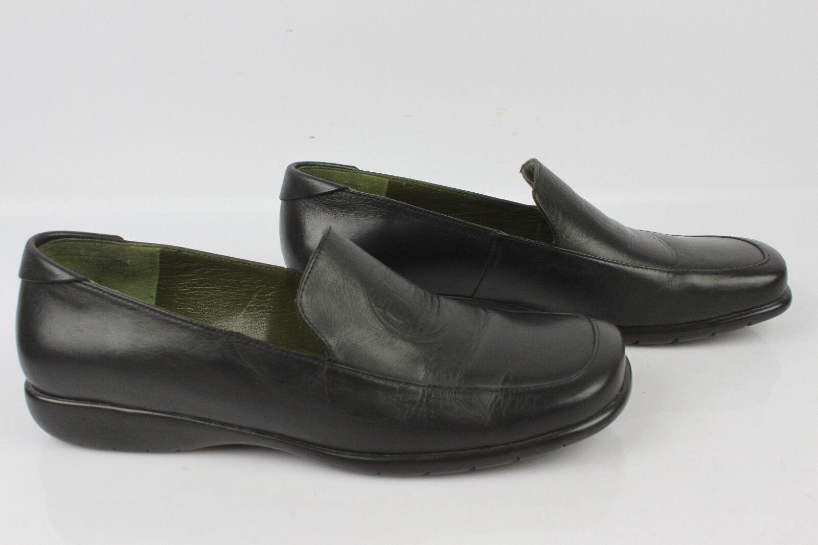 Mocassins ballerines kenzo made in france cuir noir t 36 tbe