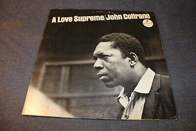 JOHN COLTRANE A Love Supreme IMPULSE A-77-A LP ABC