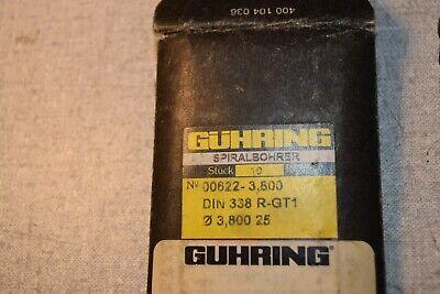 Guhring 00622-3.800 3.8mm Drill Drills Lot Of 11