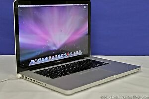 Apple MacBook Pro Core 2 Duo 2.53GHz 4GB 250GB 15