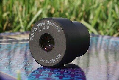 Carl Zeiss Microscope Eyepiece Kpl 16x 12 Mc 46 42 21 W Original Case