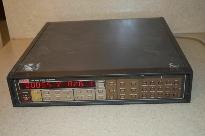 ^^ KEITHLEY 194A HIGH SPEED VOLTMETER (PP3)