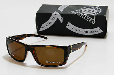 New Electric Sixer Polarized Sunglasses Tortoise Shell / Bronze M1 made in Italy