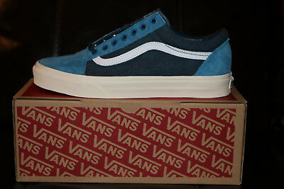 Vans for J.Crew Old Skool Sneakers Shoes Limited Edition Blue NEW Men's US 9