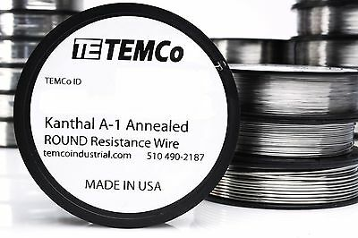 - TEMCo Kanthal A1 Wire Resistance Resistor Gauge AWG A-1