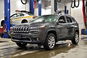 2018 Jeep Cherokee LIMITED * GROUPE LUXE ET TECHNOLOGIE * CUIR