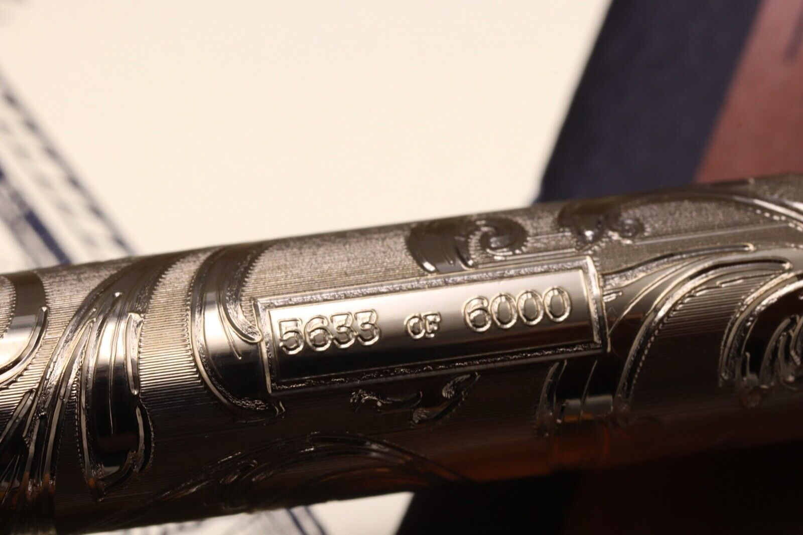 W.A Sheaffer Commemorative LE Lever Fill Fountain Pen - Fully Serviced July 21 4