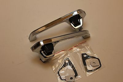 Chevy Pickup Truck OUTSIDE OUTER EXTERIOR DOOR HANDLE  PAIR SET 1978-1987