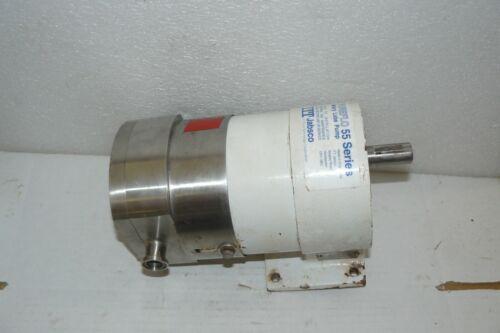 "ITT Jabsco 55320-130 PureFlo 55 Series Rotary Lobe Pump 11GPM 3/4"" TRI-CLAMP"