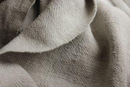 Antique GRAY  linen sheet old linen 42 X67hemp linen GORGEOUS WASHED HEAVY hemp