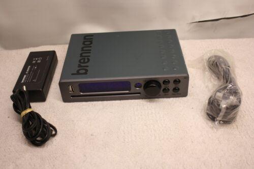 BRENNAN JB7 MUSIC MINI SYSTEM HARD DRIVE CD JUKEBOX USB MP3 PLAYER 320gb