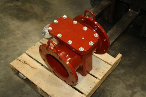 "New 8"" 150 Badger Plate Strainer NSF 61G Water Meter"