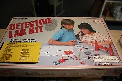 NIB Tasco Detective Lab Kit Vintage Childrens Toy Kids