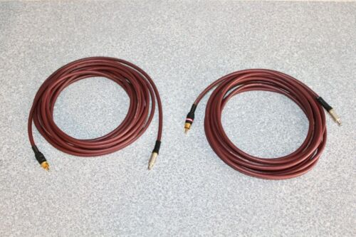 Monster Cable Interlink Special RCA to CAMAC 20ft interconnect pair LEVINSON