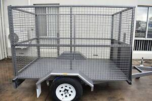 Single Axle Caged Trailer 8x5 (Aussie Made) Holden Hill Tea Tree Gully Area Preview