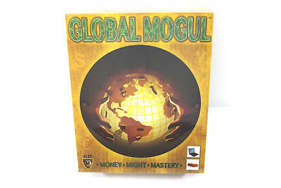 Global Mogul Board Game Mayfair Games 4127 Money Might Mastery 2013 New Sealed