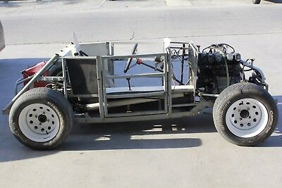 DWARF LEGEND RACING KIT CAR HAS A HONDA MOTORCYCLE ENGINE