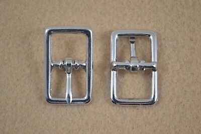 "Buckle, Bar - 5/8"" Nickel Plated - Set of 24 (F366)"