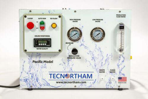 Seawater Desalination 300GPD Water maker Reverse Osmosis Boat Yacht Marine Well