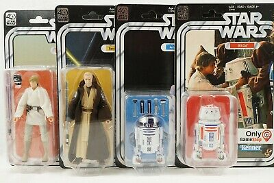 Star Wars Black Series Vintage 40th Anniv A New Hope Wave 1 + Bonus!
