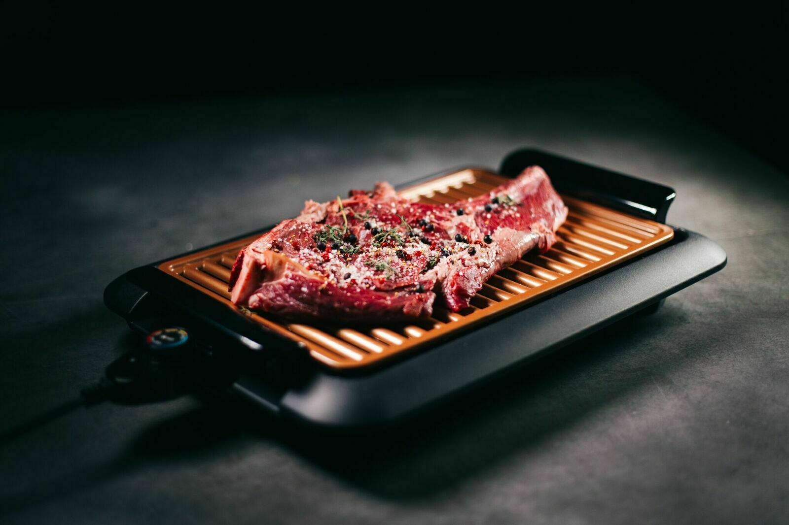 Gotham Steel Smokeless Electric Grill with Non-Stick Surface