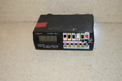 Simpson Model 467 True Rms Digital Multimeter B1