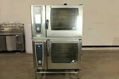 Rational Scc 62 We 62e 6 Pan Capacity Double Electric Combi Oven 480v