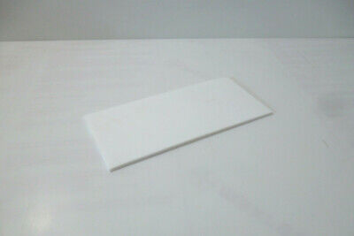 "Cut to Size! 4/"" White Natural Delrin Acetal Plastic Rod Price per Foot"